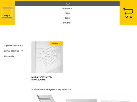 Elega.pl panele gipsowe producent