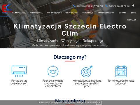 Electro-clim.com.pl naprawa klimatyzacji szczecin