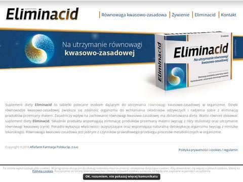 Eliminacid.pl tabletki