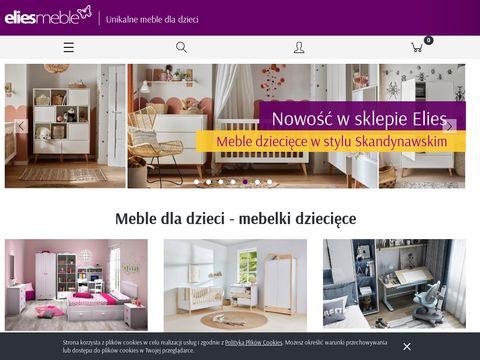 Elies.pl łóżka piętrowe z biurkiem