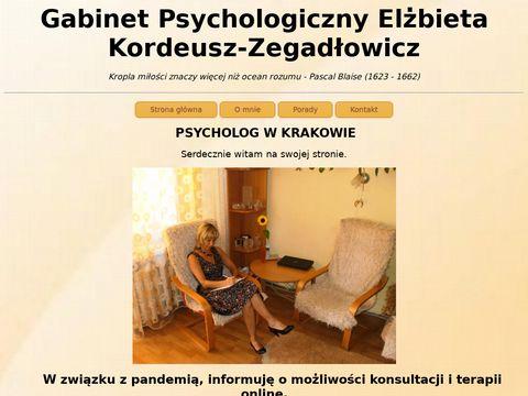 Elżbieta Kordeusz-Zegadłowicz psycholog