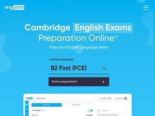 Engxam.com cambridge exams preparation online