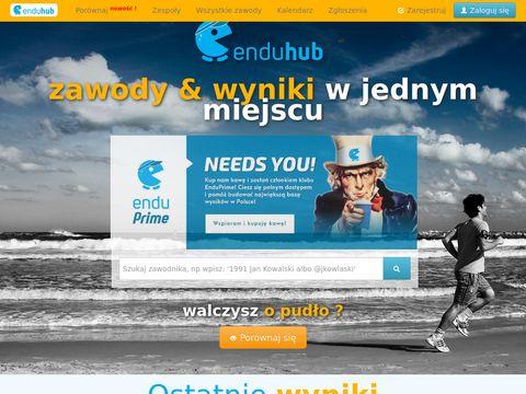 Enduhub.com - wyniki zawodów sportowych