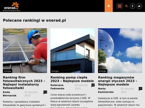 Enerad.pl - porównywarka cen prądu