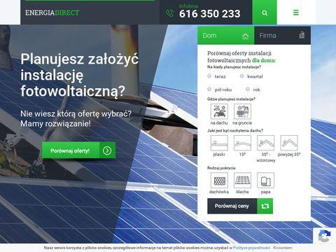 Energiadirect.pl - porównanie cen energii