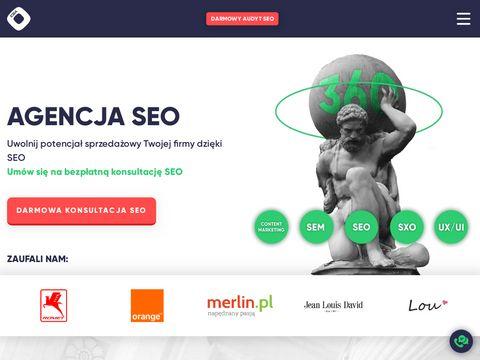 Enterso.pl pozycjonowanie stron Kraków