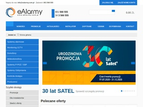 EAlarmy.com.pl - monitoring CCTV