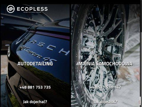 Ecopless.pl kosmetyka samochodowa