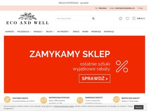 Ecoandwell.pl makijaż naturalny