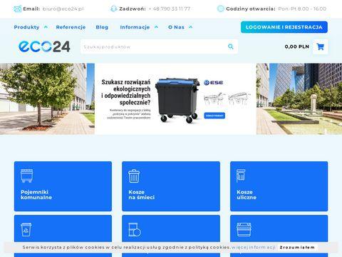 Eco24.pl sklep z koszami na śmieci