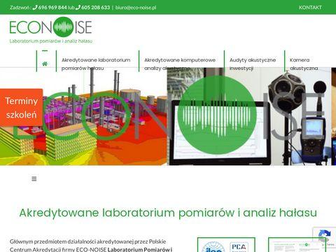 Eco-noise.pl - jak zbadać hałas