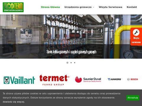 Ecoterm - serwis kotłów gazowych Wolbrom, Chrzanów