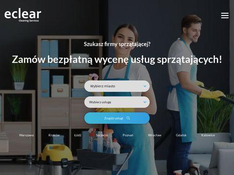 Eclear.pl sprzątanie biur i mieszkań