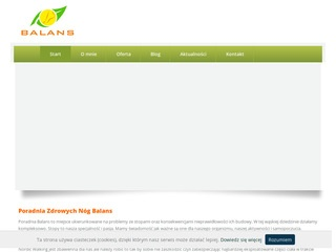 Ebalans.pl wkładki ortopedyczne