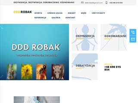 Edddrobak.pl dezynfekcja deratyzacja