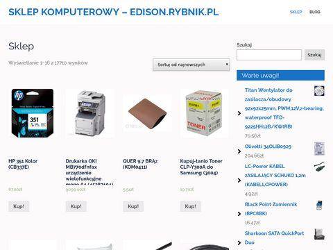 Edison.rybnik.pl korepetycje chemia