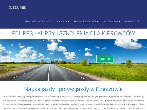Edures.pl kurs na prawo jazdy