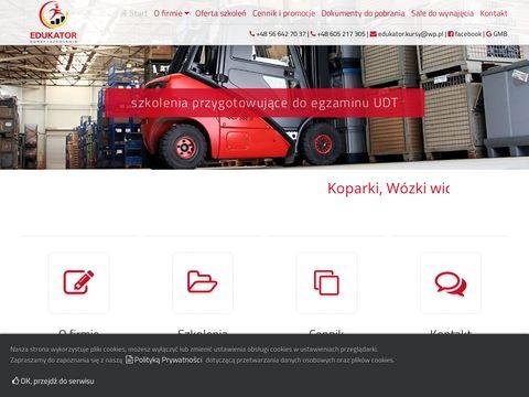 Edukatorkursy.pl szkolenia zawodowe