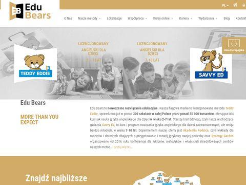 Edubears.pl angielski dla dzieci