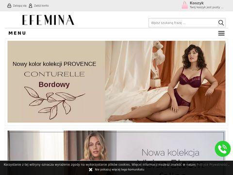 Efemina.pl - sklep internetowy odziez damska i męska