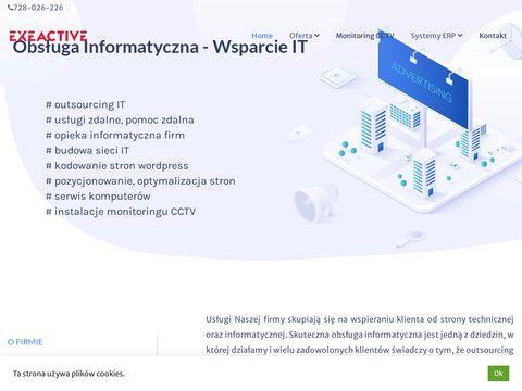 Exeactive.pl - opieka informatyczna