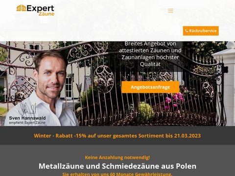 Expertzaune.com producent bram i ogrodzeń