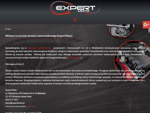 Expertmoto.pl auto serwis Kraków
