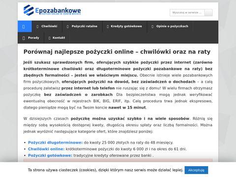 Epozabankowe.pl
