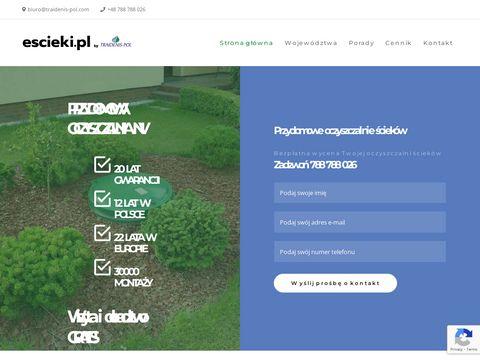 Escieki.pl przydomowe oczyszczalnie
