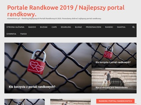 Esamotnosc.pl ranking portali randkowych