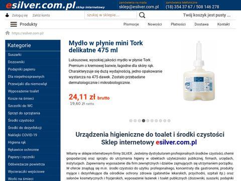 Esilver.com.pl Płyny do zmywarek gastronomicznych
