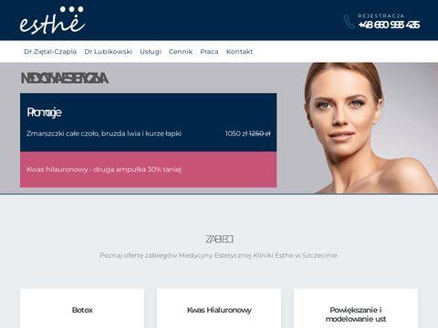 Esthe-med.pl medycyna estetyczna w Szczecinie