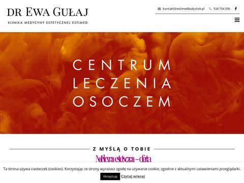 Estimedbialystok.pl zabiegi medycyny estetycznej