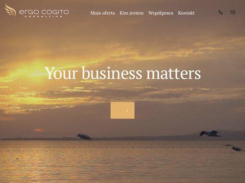 Ergo Cogito Gdańsk tworzenie nazw firm