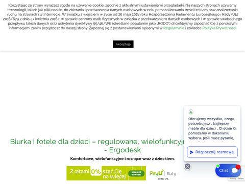 Ergodesk.com.pl krzesła do biurka dla dzieci