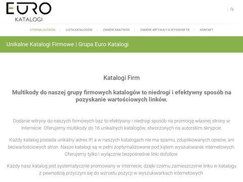 Eurokatalogi.pl grupa 16 katalogów firm