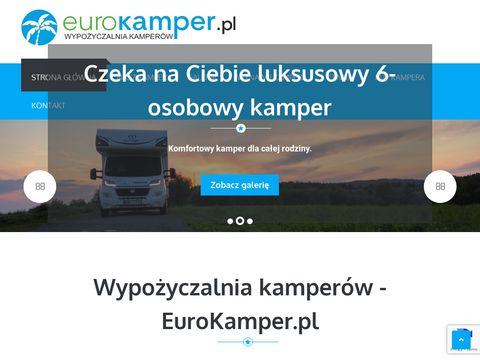 Eurokamper.pl - wypożyczalnia kamperów