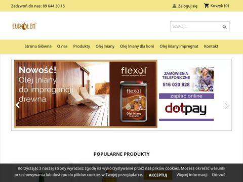 Eurolen.pl - olej lniany sklep internetowy