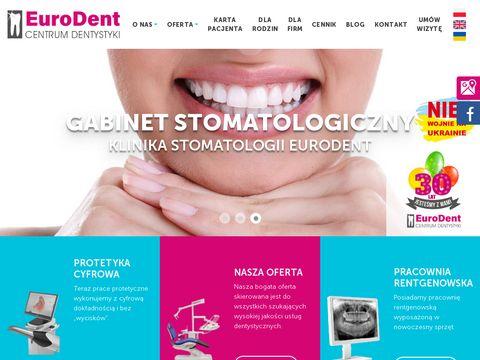 Eurodent – dentysta stomatolog Kraków