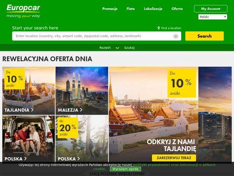 Europcar - wynajem samochodów