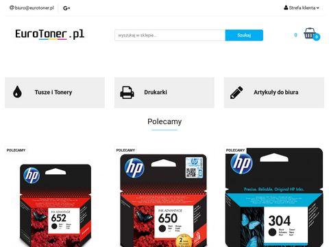 Eurotoner.pl tusze i tonery w najniższych cenach