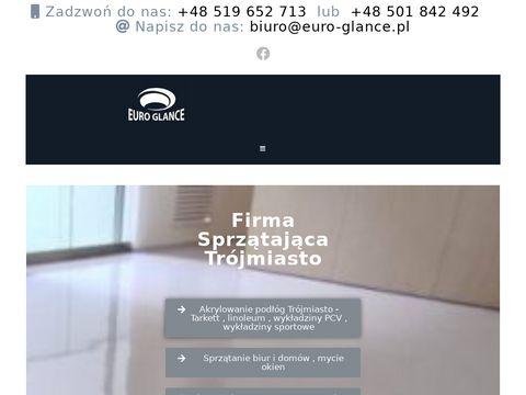 Euro-glance.pl Sprzątanie mieszkań, biur Gdańsk