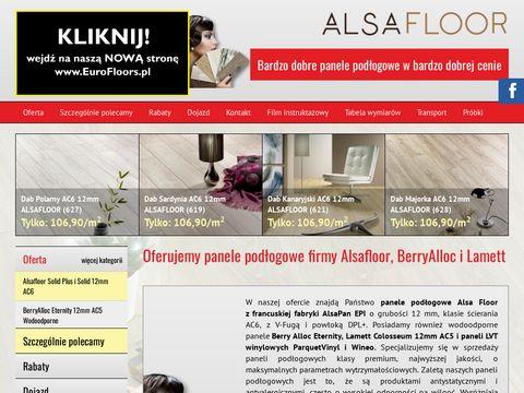 Euro-Floors panele podłogowe Alsafloor