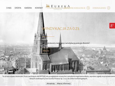 Eureka-Finanse odzyskiwanie długów