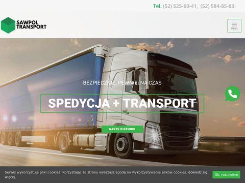 Sawpol - usługi transportowe, logistyka