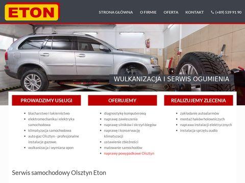 Eton.pl serwis samochodowy Olsztyn