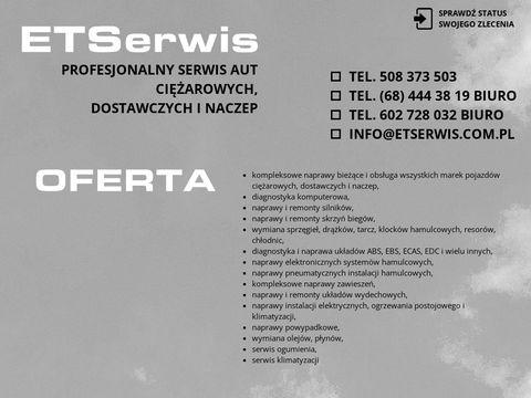 Etserwis.com.pl diagnostyka komputerowa aut