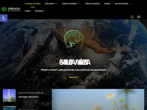 Ewolucjamyslenia.pl biologia