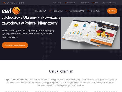 EWL- zatrudnianie pracowników z Azji