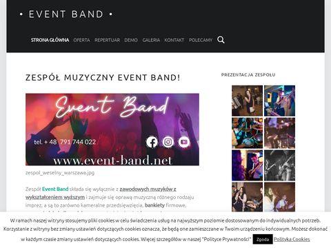 Event-band.net zespół na wesele Warszawa